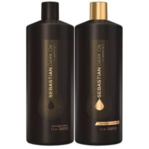 Shampoo 1L + Condicionador 1L -  Dark Oil Salon Duo
