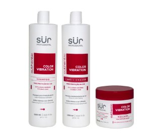 Kit Shampoo + Condicionador 1000ml + Máscara 500ml - Color Vibration
