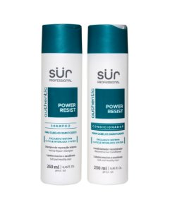 Kit Shampoo + Condicionador 250ml - Power Resist