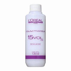Revelador Diactivateur 4,9% 15 Volumes 120ml - L'Oréal Professionnel