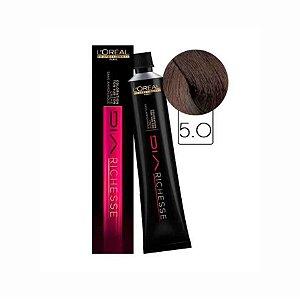 Tonalizante Diarichesse 5.0 Castanho Claro Profundo 80g - L'Oréal Professionnel