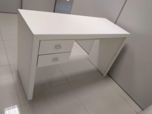 Escrivaninha Tivoli com 2 gavetas 117x47 | Mesa de escritório