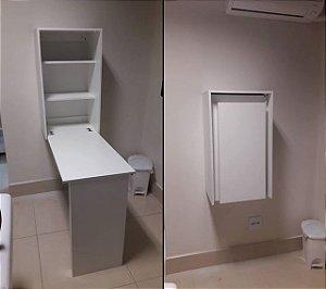 Mesa dobrável com armário - AM3106