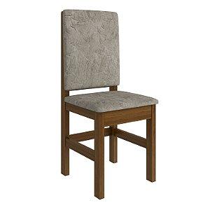 Cadeira Canela Encosto Estofado - HB12