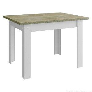 Mesa branca - Tampo Santurini - HB110