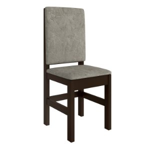 Cadeira Tabaco Encosto Estofado - HB12