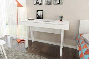 Mesa de escritório com 2 gavetas - ME4128