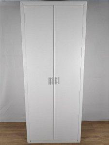 Armário com portas Silver Maple 180x80x40 - 100% MDF - TreeMobili