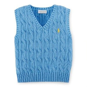 Sweater Cotton V Ralph Lauren