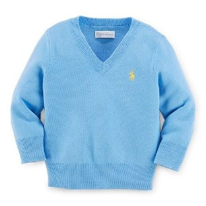 Sweater Cotton Manga Longa Ralph Lauren