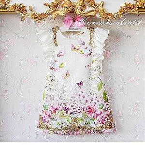 Vestido Estampa Onça Tropical