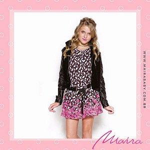 Vestido  Estampa Miaw Miaw