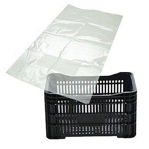 Saco Plástico Transparante para Caixa de Verdura 105 x 75cm 100 Uni - ZP