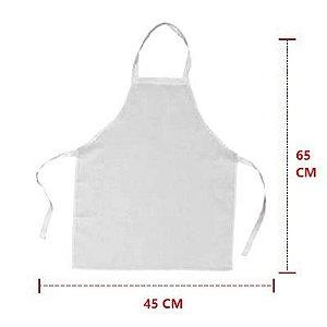 Avental Branco de Corvin Grande 65x45cm - Jandapanos