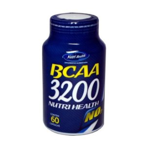 BCAA 3200 60 CPS - NUTRI HEALTH