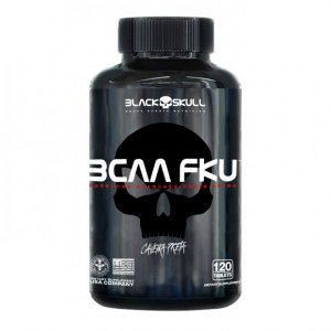 BCAA FKU CAVEIRA PRETA - 120 TABS - BLACK SKULL