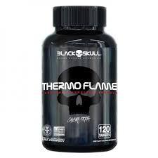 THERMO FLAME CAVEIRA PRETA (120TABS) - BLACK SKULL