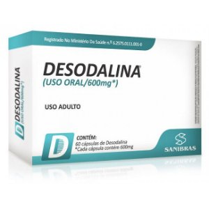 DESODALINA - 60 CÁPSULAS  POWER SUPPLEMENTS