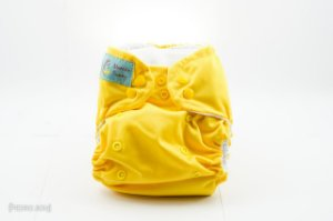 Fralda Reutilizável - Amarela