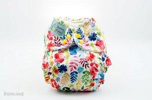 Fralda Reutilizável - Floral