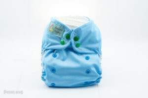 Fralda Reutilizável - Azul Claro