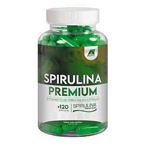 Spirulina Premium - 1300mg por Dose - 120 Cápsulas