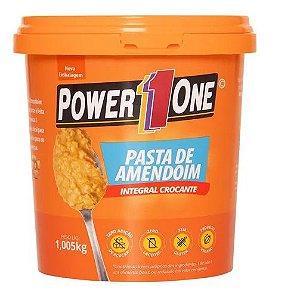 PASTA DE AMENDOIN INTEGRAL POWER ONE 1KG COM GRANULADO