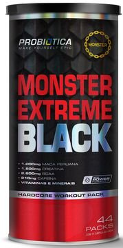 MONSTER EXTREME BLACK 44 PACK PROBIOTICA