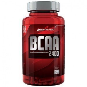 BCAA 2400 MG 100 CAPSULAS BODY ACTION