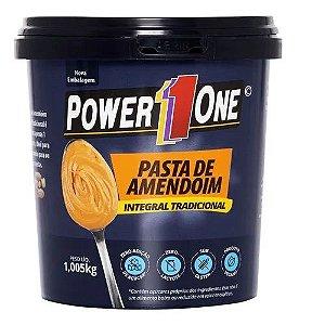 Pasta de Amendoim Integral  - 1000g - Power One