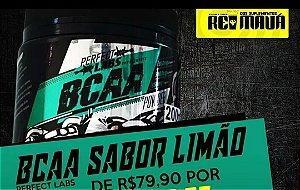BCAA EM PÓ PERFECT LABS 200G LIMÃO