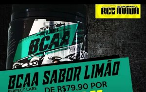 BCAA EM PO PERFCT LABS 200G LIMAO