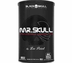 Mr Skull by Lee Priest - (44 Multi Packs) - Black Skull