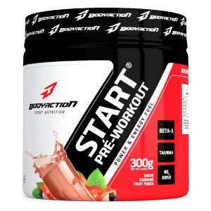 START PRÉ-WORKOUT 300G BODYACTION