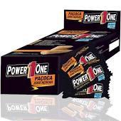 Paçoca Rolha Zero Açúcar Power One Caixa com 24 Unidades - 432g