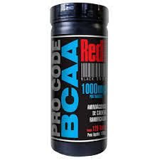 BCAA PRO CODE 120 TABS RED SERIES