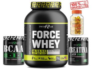 Kit 2kg Whey Iso Mix + bcaa 300g + creatina 300g + cártamo 120 caps