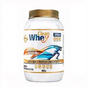 Clean Whey 100% Whey Protein Concentrado – Glanbia (900g)