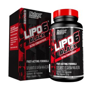 Lipo 6 Black Ultraconcentrado (60 cápsulas) Nutrex