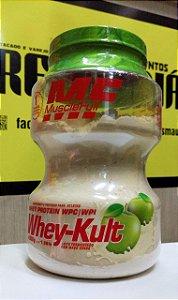 WHEY-KULT (1.030KG) MUSCLEFULL maça verde