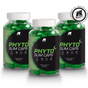 Phyto Slim Emagrecedor Natural Kit Com 3 Potes De 60 Cápsulas (by phyto power)
