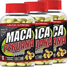 Kit 3 Potes Maca Peruana 1000mg - 540 caps - Lauton Nutrition