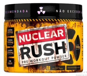 Nuclear Rush - Pré Treino 2000mg Beta Alanina yellow grape - Bodyaction
