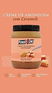 Pasta Creme de Amendoim com Caramelo 1kg - Power1One