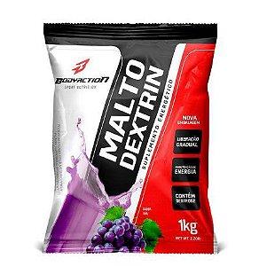 Malto Dextrina 1kg - Bodyaction - Sabor UVA