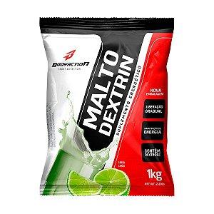 Malto Dextrina 1kg - Bodyaction - Sabor LIMÃO