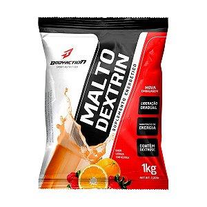 Malto Dextrina 1kg - Bodyaction - Sabor LARANJA COM ACEROLA