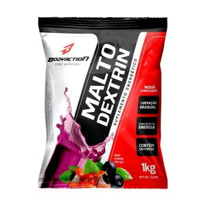 Malto Dextrina 1kg - Bodyaction - Sabor GUARANÁ COM AÇAÍ