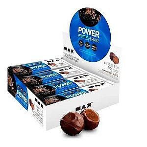 Power Protein Bar - Chocolate Trufado 8 unidades - Max Titanium