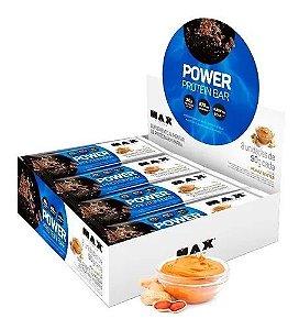 Power Protein Bar - Caramelo 8 unidades - Max Titanium